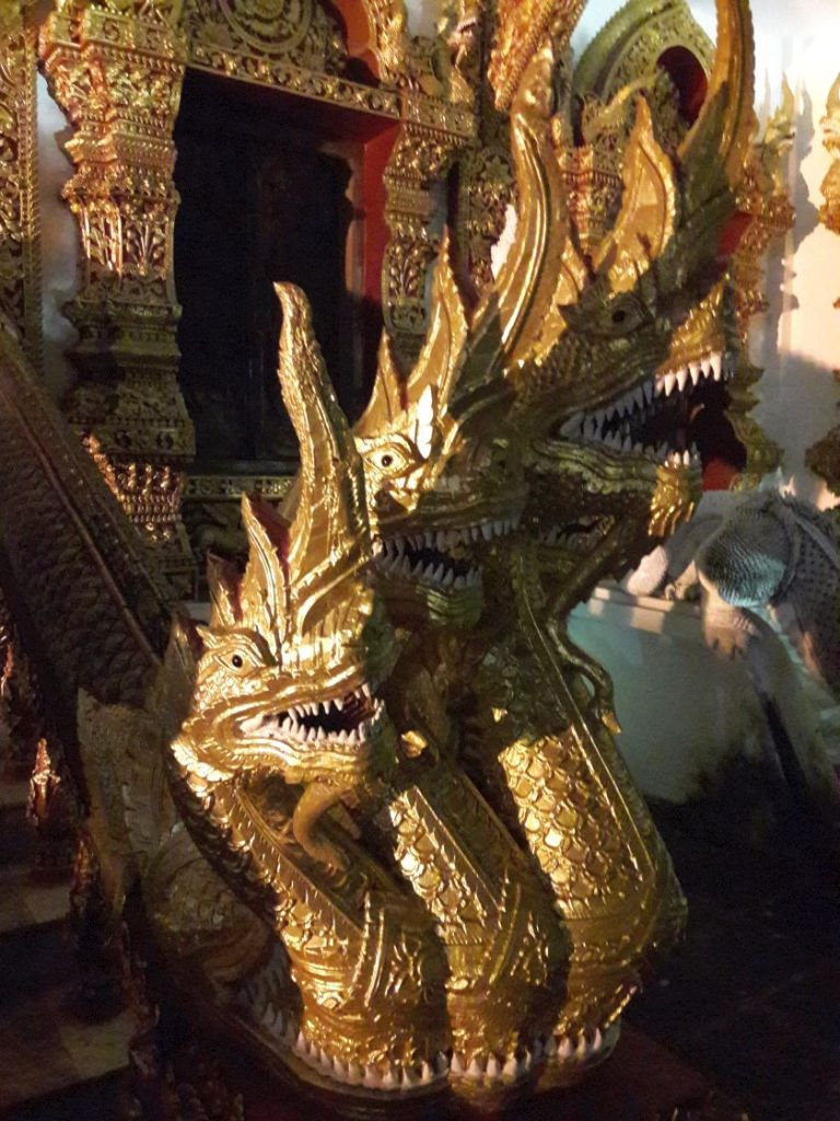 vielköpfiger Drachen