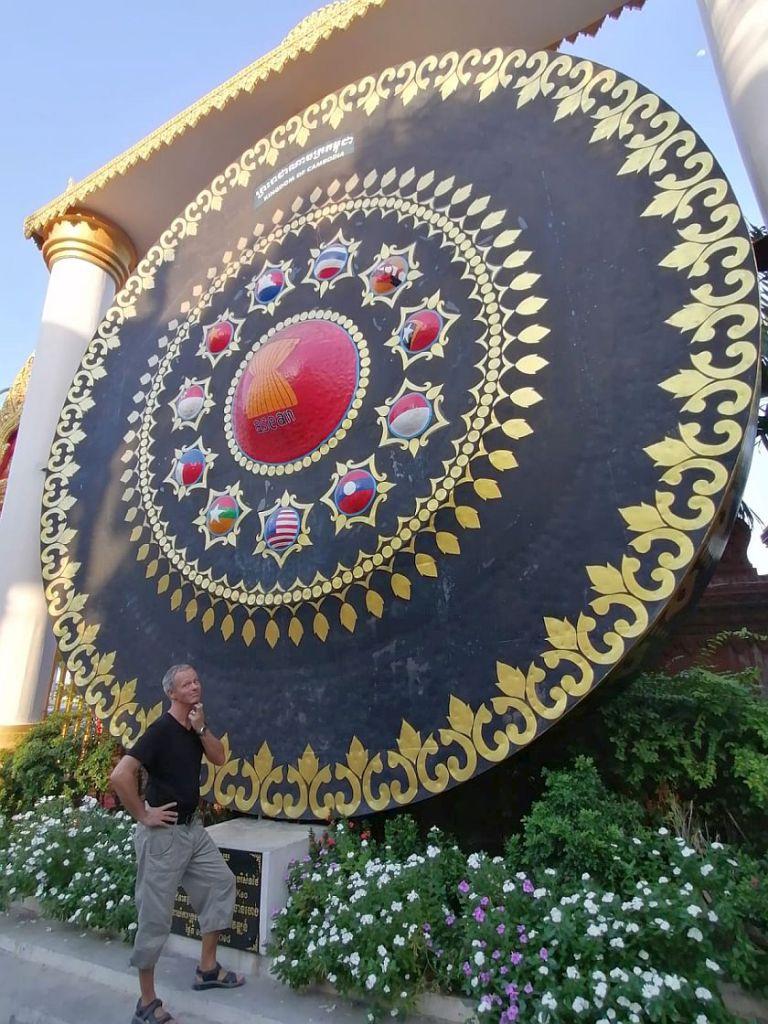 riesiger gong