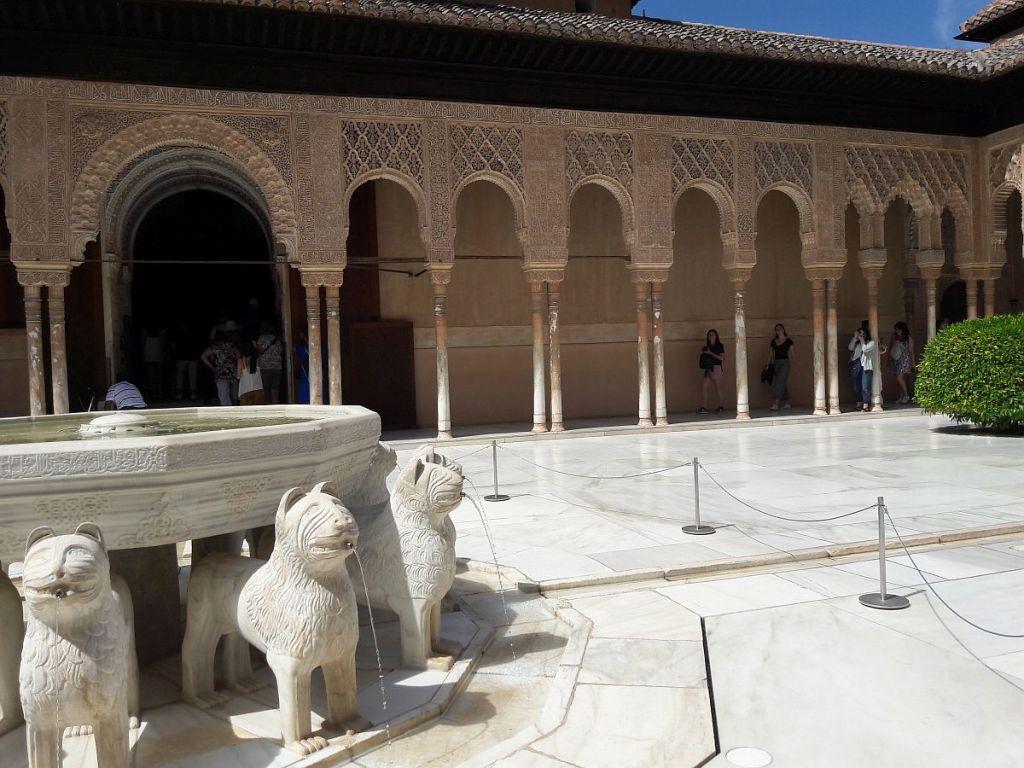 Löwnebrunnen Alhambra