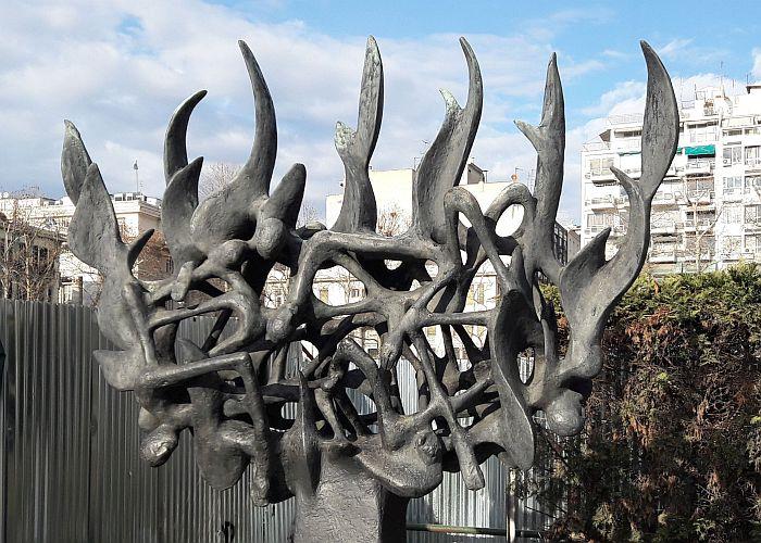 Skulptur mit Chaos