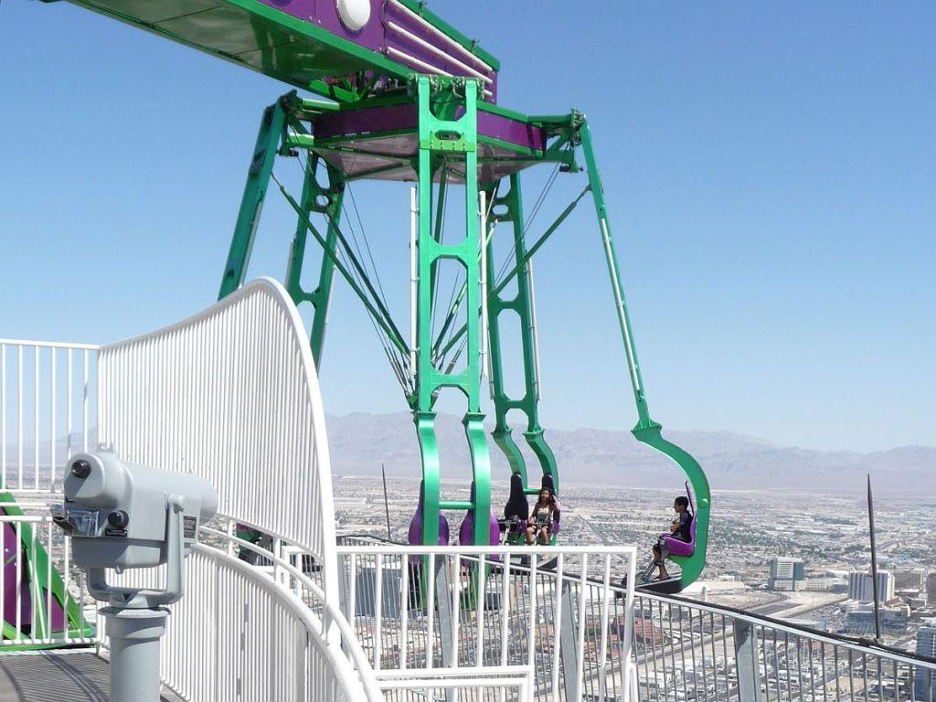 Stratosphere Tower mit Vergnügungspark