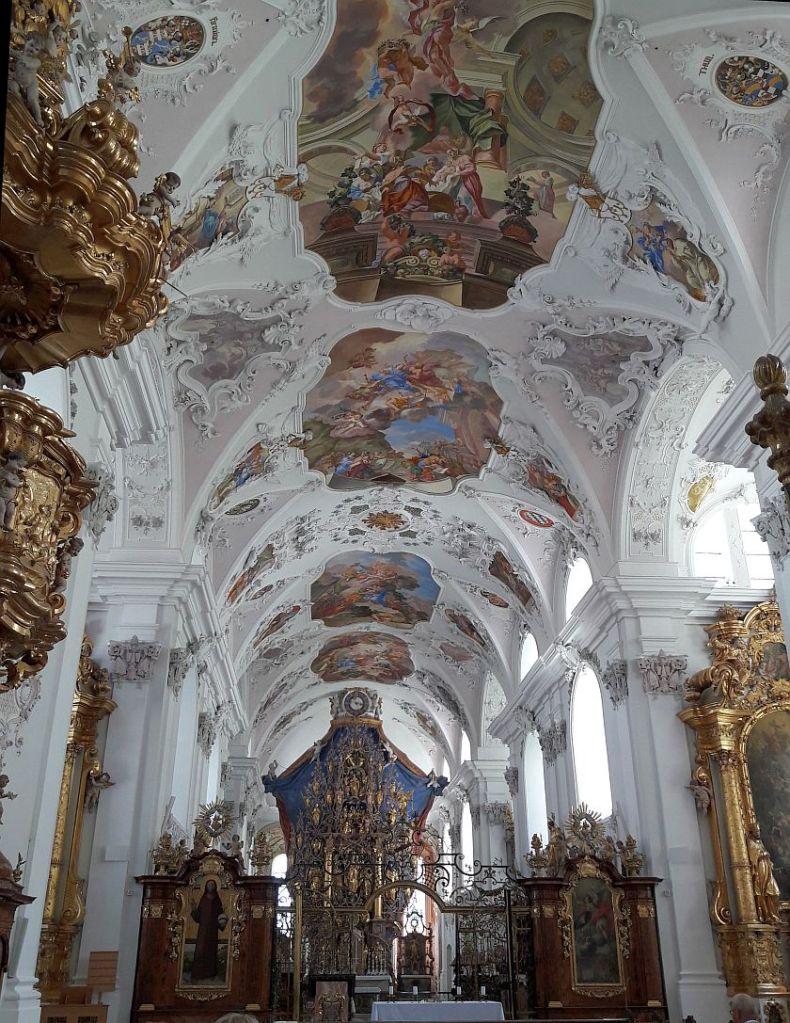 Barocke Innenansicht Basilika Stamser Stift