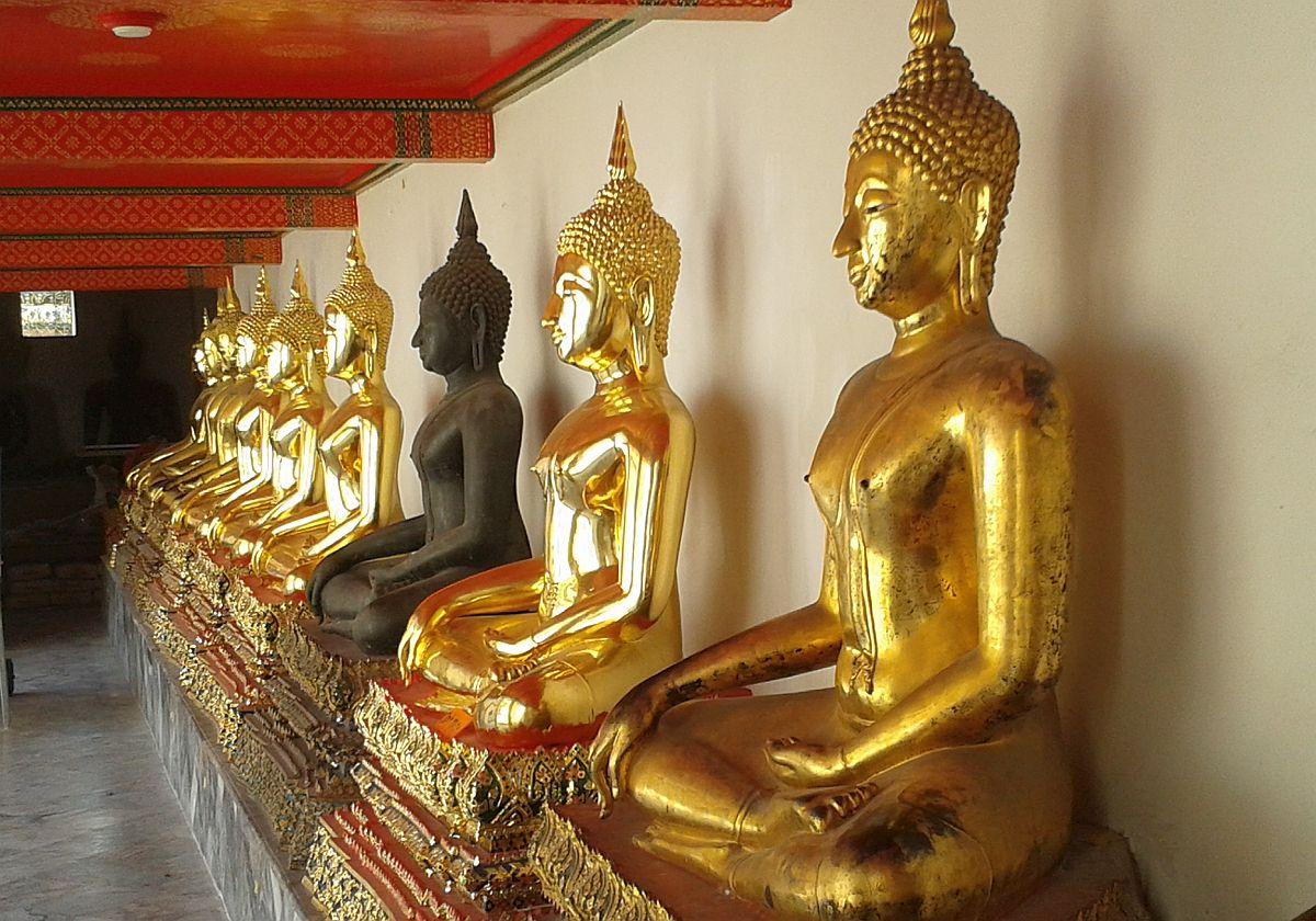 Szenen aus BuddhasLeben