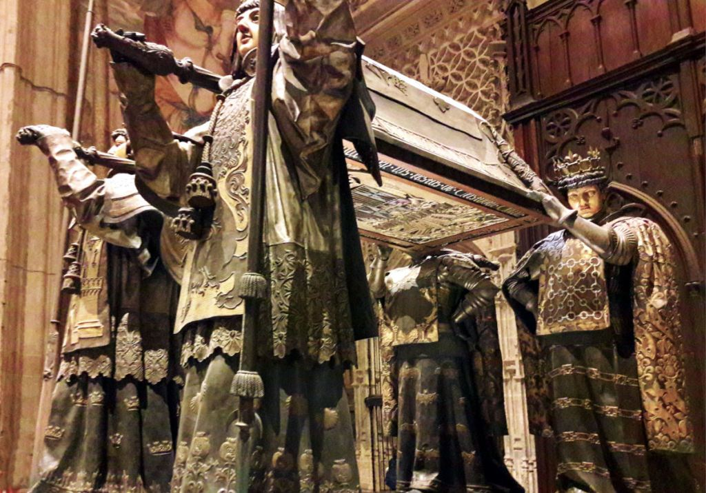Grab von Christoph Columbus