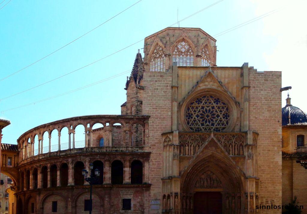 Kathedrale von Valencia ohne Turm