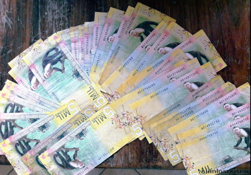 Costa Ricanisches Geld