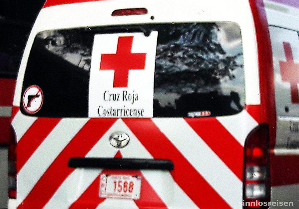 Rettungswagen in San Jose