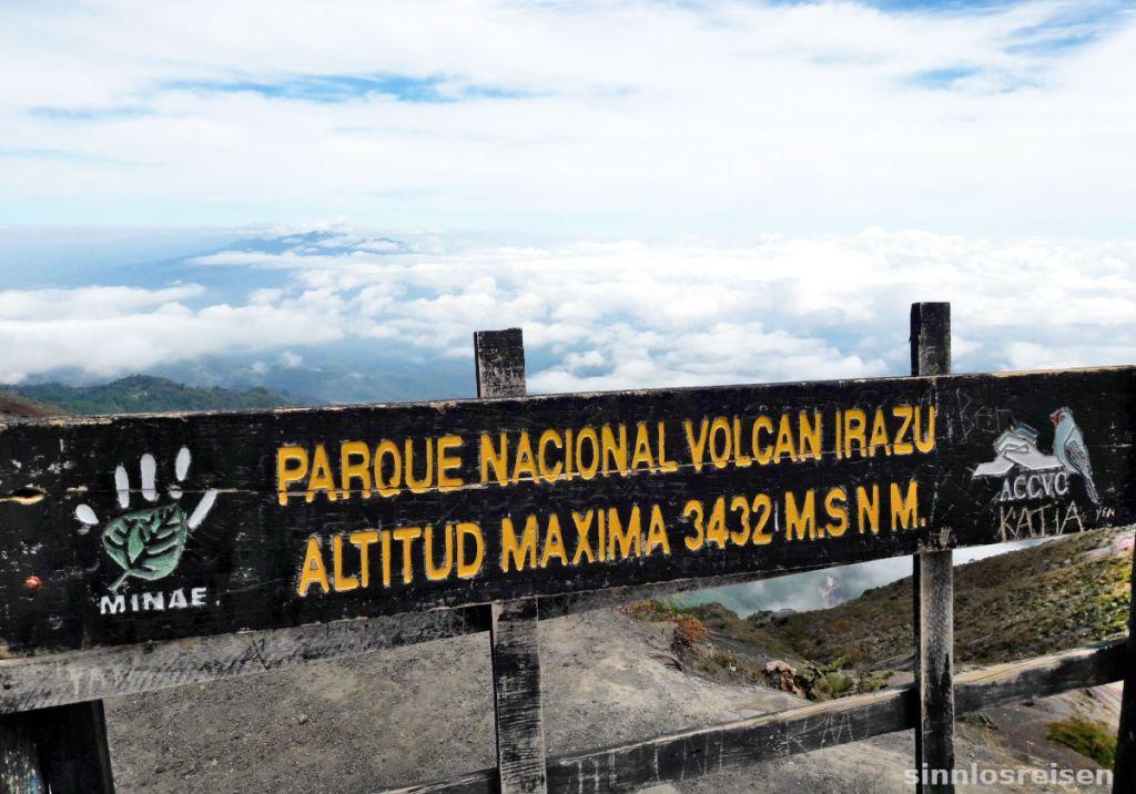 Nationalpark Volcan Irazu