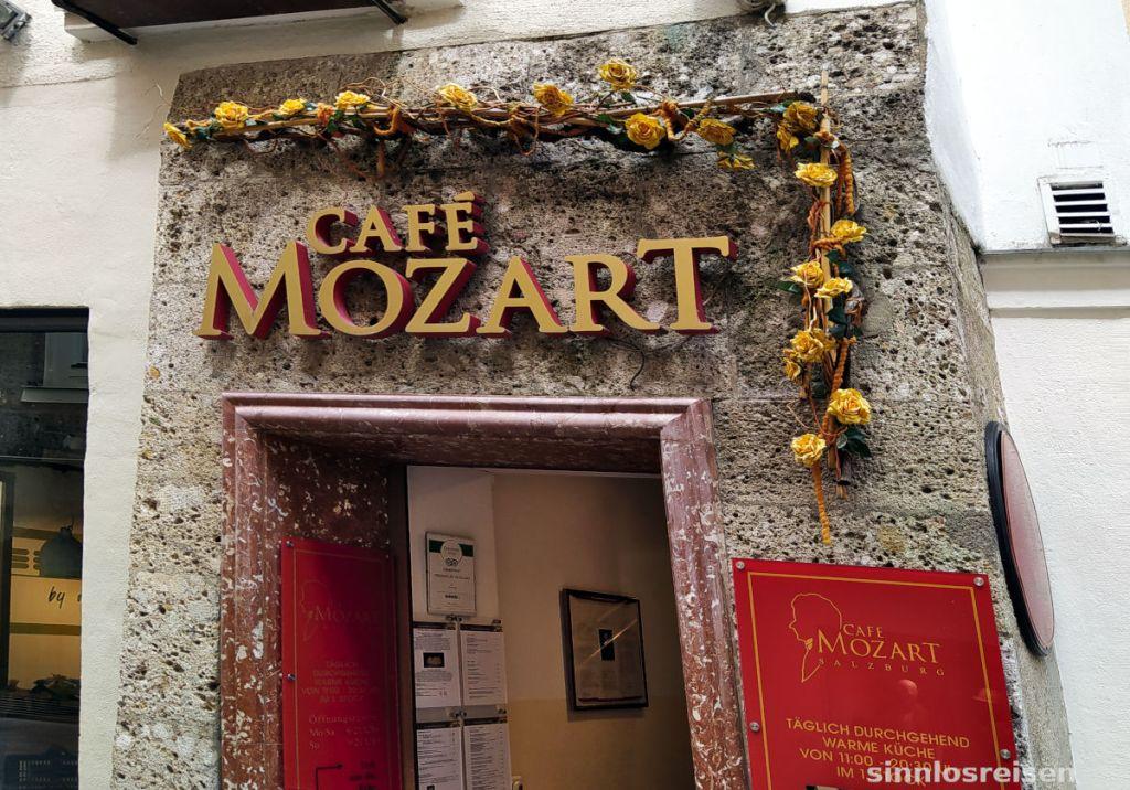 Cafe Mozart in Salzburg