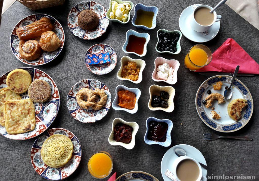 Frühstück auf Marokkanisch