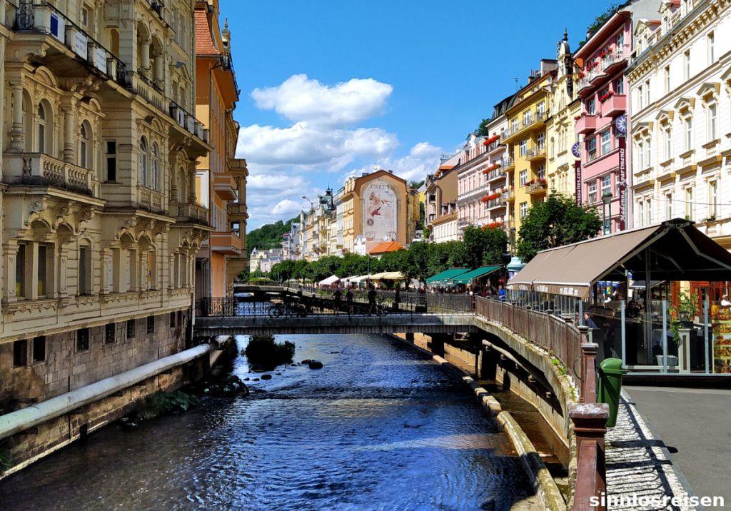 Altstadt von Karlsbad, Tschechien