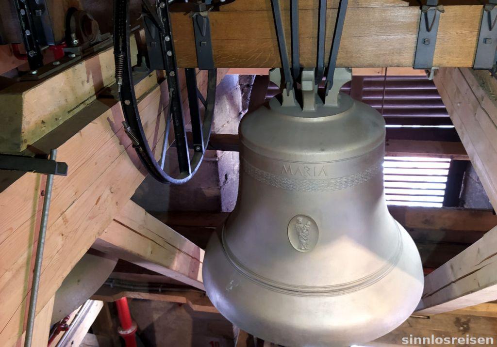 Glocke auf dem Turm der Kathedrale