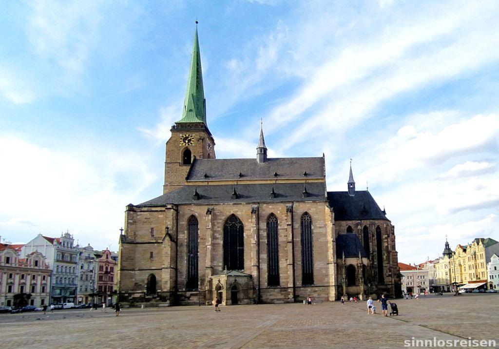 St. Bartholomäus Kathedrale in Pilsen