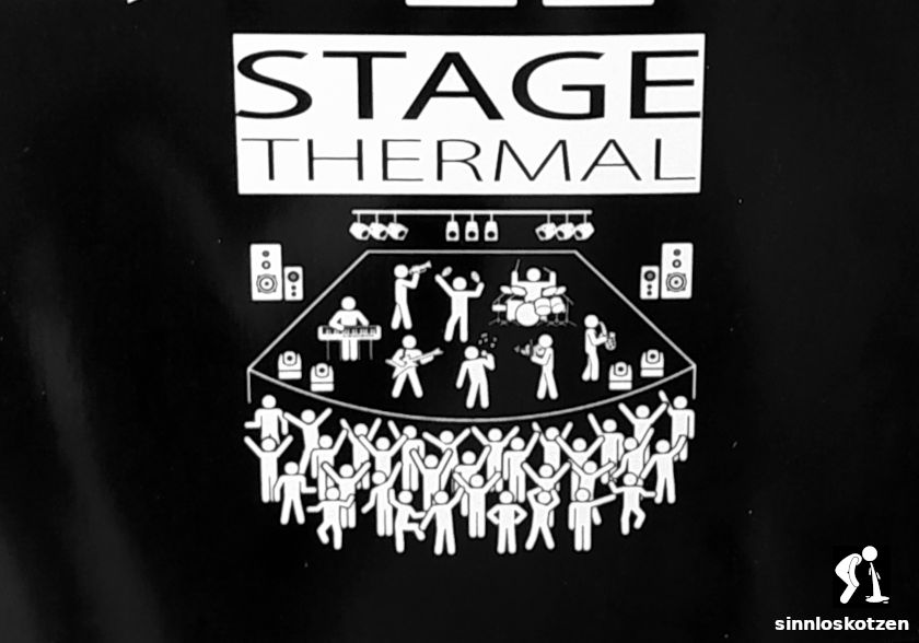 Plakat Thermal stage
