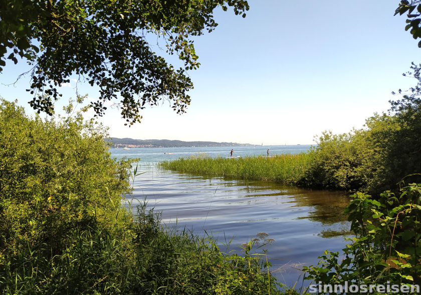 Seezugang am Bodensee mit SUP