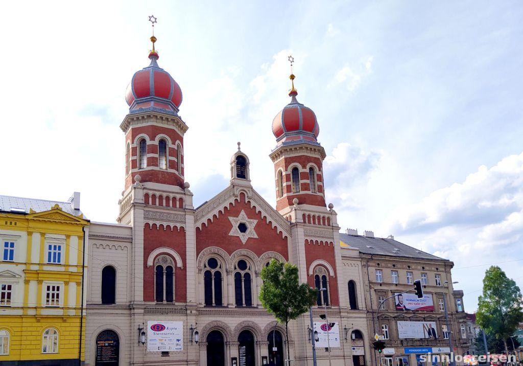 Die große Synagoge in Pilsen