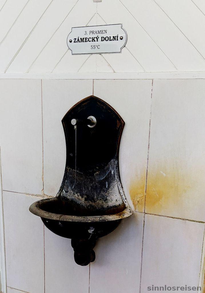 Wasserhahn in Karlsbad