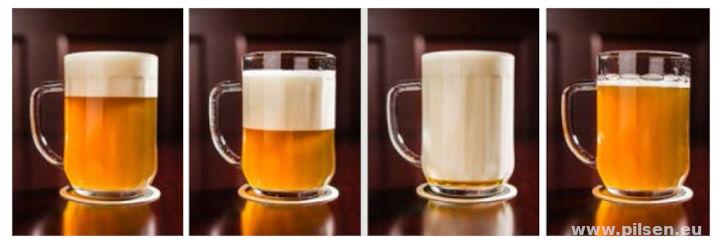 Zapftechnik ergibt vier Varianten von Bier